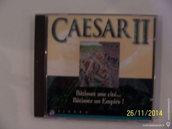 JEU DE PC CAESAR II BATISSEZ UN EMPIRE ROMAIN !!! 8 Les Églisottes-et-Chalaures (33)