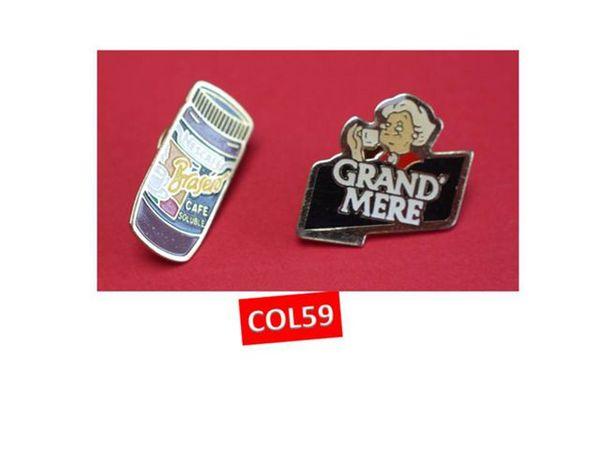 PIN'S café GRAND MERE et NESCAFE 2 Mons-en-Barœul (59)