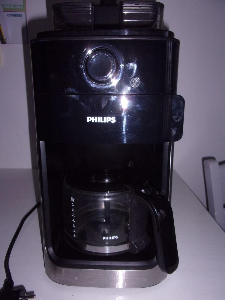 CAFETIERE BROYEUR PHILIPS noire & grise 100 Gennevilliers (92)