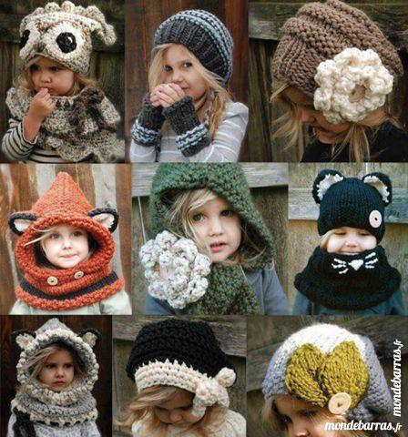 cagoules et bonnets 10 Méricourt (62)