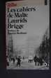 Les cahiers de Malte Laurids Brigge- Rilke, Rennes (35)