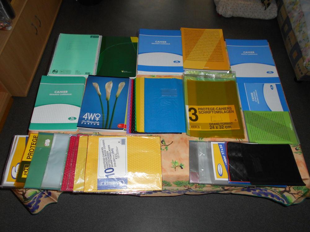 Lot de cahiers et protèges cahiers 90 Rennes (35)