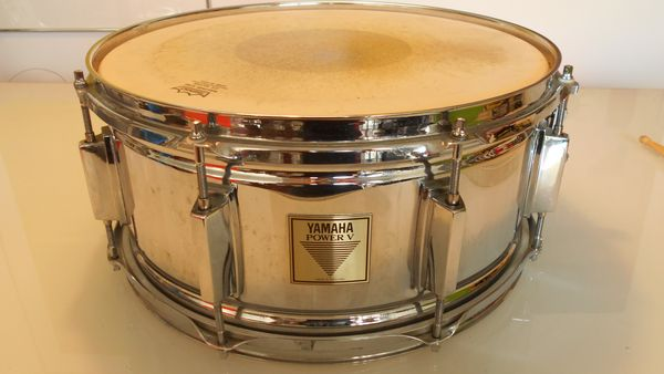 Caisse Claire Yamaha Power V Metal 14  x 6,5   180 Paris 19 (75)