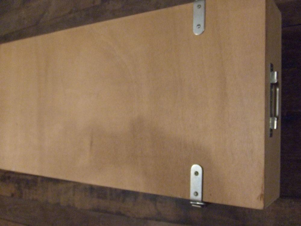 5 caisses en bois neuves pour rangement ou stockage 100 Saales (67)