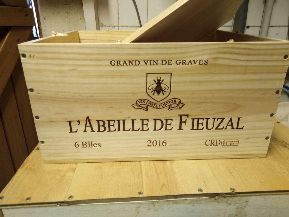 Caisses bois de vin  15 Saint-Médard-en-Jalles (33)