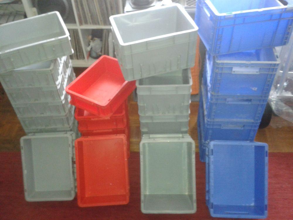 Caissettes - Caisses plastique- caisse manutention - bacs  7 Paris 15 (75)