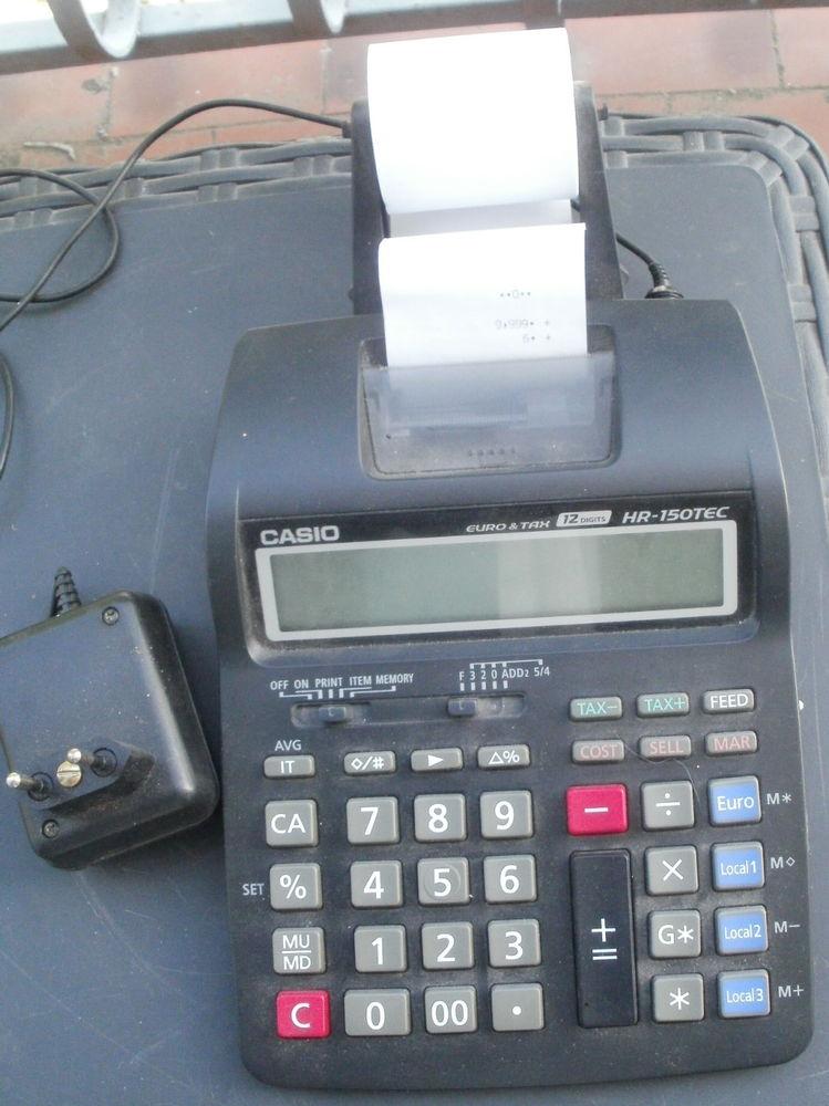 Calculatrice de bureau CASIO HR 150TEC +adaptateur 20 Montauban (82)
