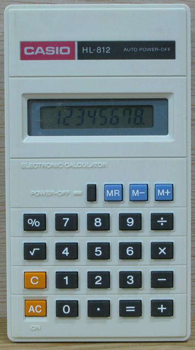 calculatrice casio HL 812 4 Beauchamp (95)