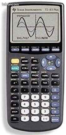 Calculatrice Graphique Scientifique Texas TI-83 Plus 50 Théziers (30)