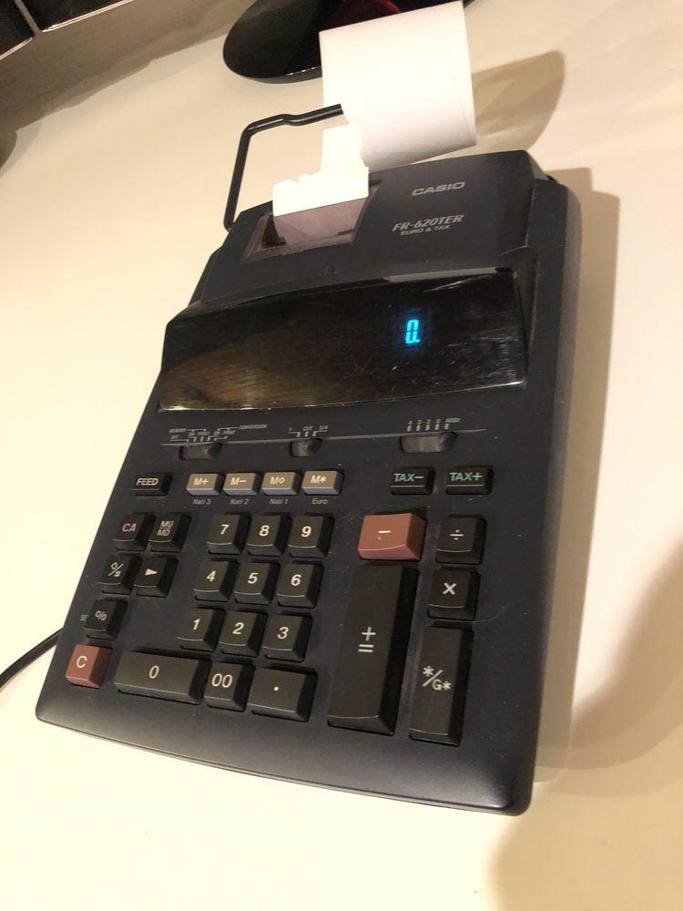 Calculatrice Imprimante CASIO FR 620 TEC Matériel informatique