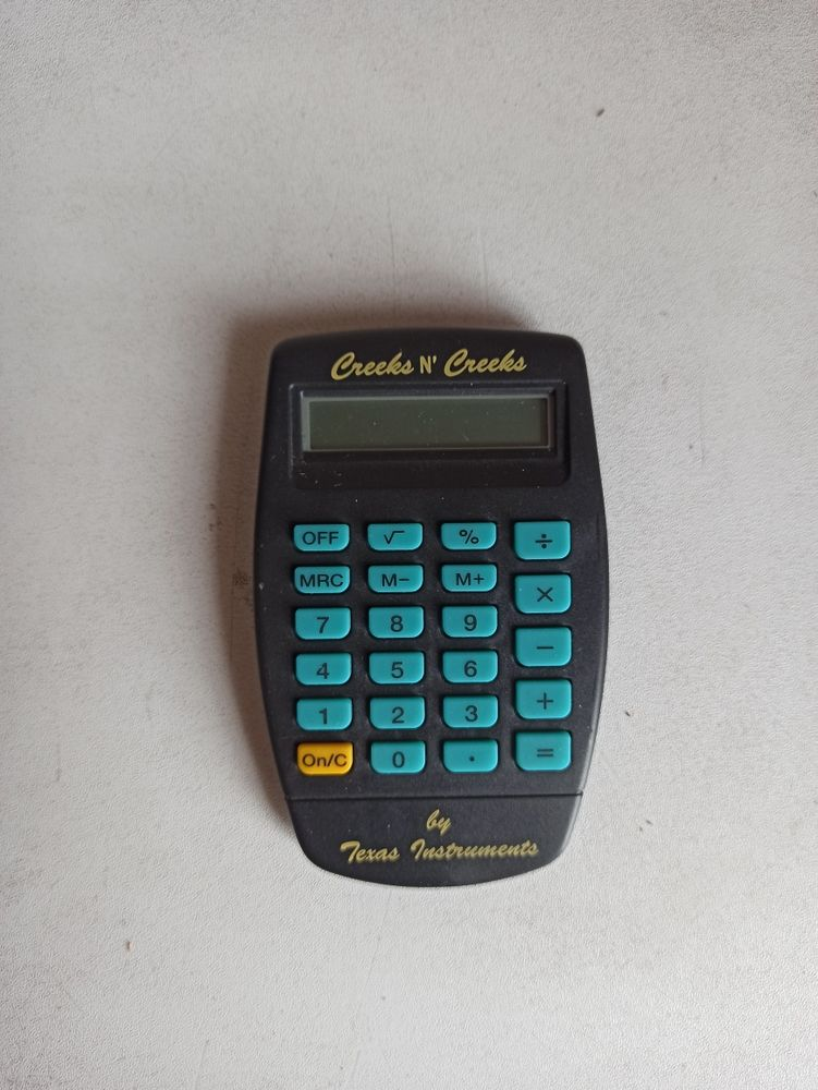 Calculatrice de poche 2 Paris 19 (75)