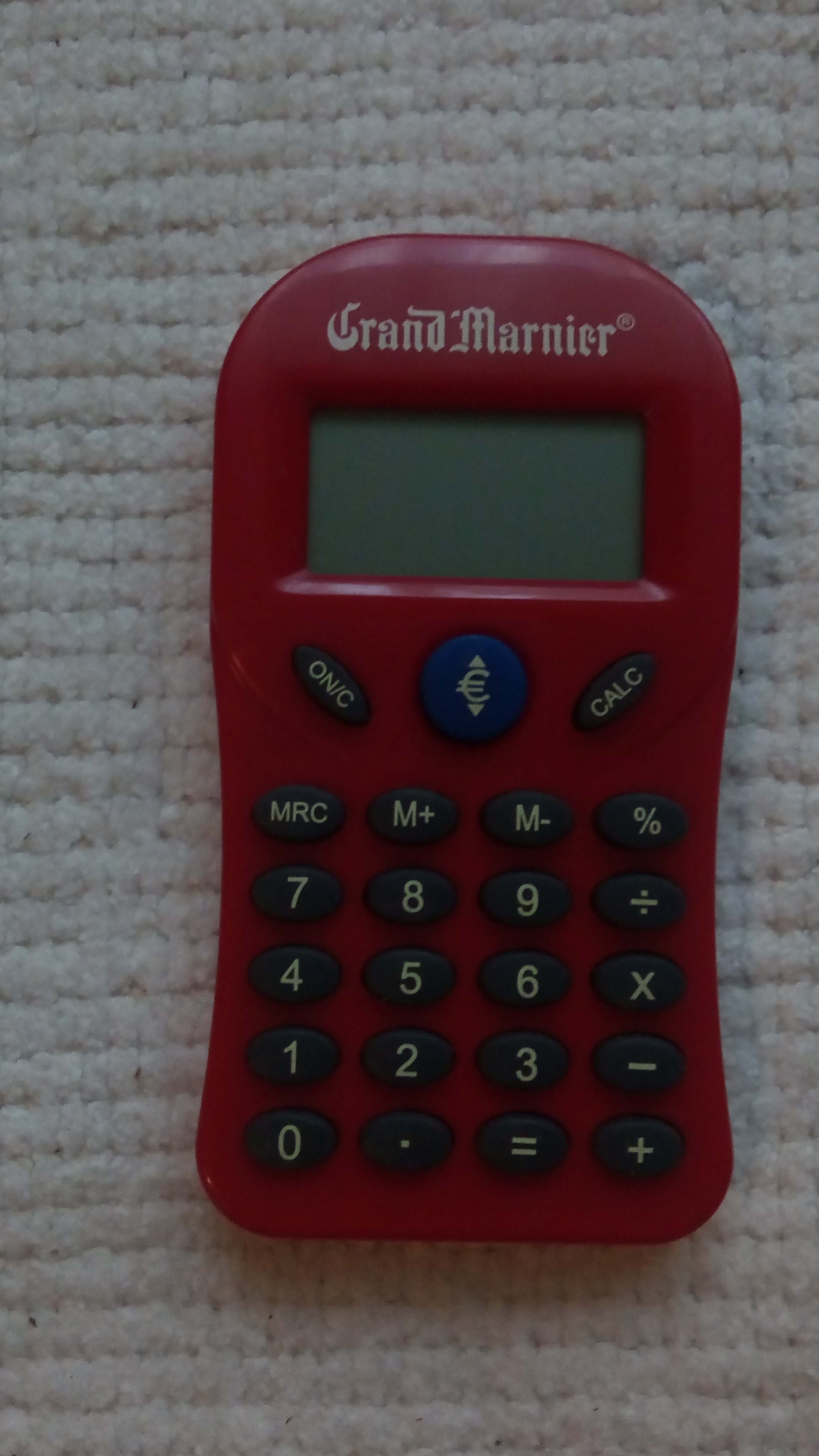 Calculatrice reconvertie Grand Marnier 5 Thiais (94)