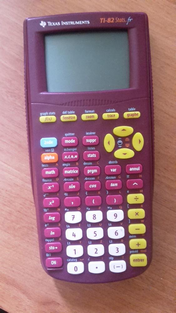 Calculatrice Texas Instruments TI-82 Stats Matériel informatique