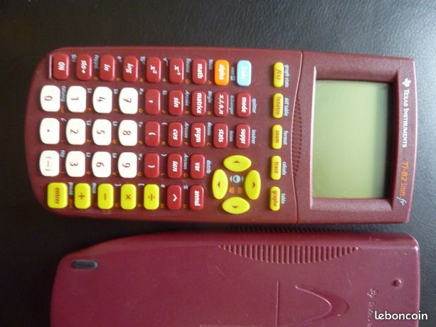 Calculatrice Texas Instruments TI-82 stat Matériel informatique