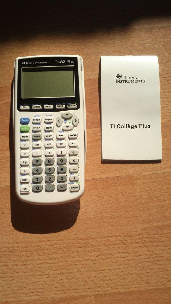 CALCULATRICE TEXAS INSTRUMENTS TI-82 Plus 64 Olivet (45)