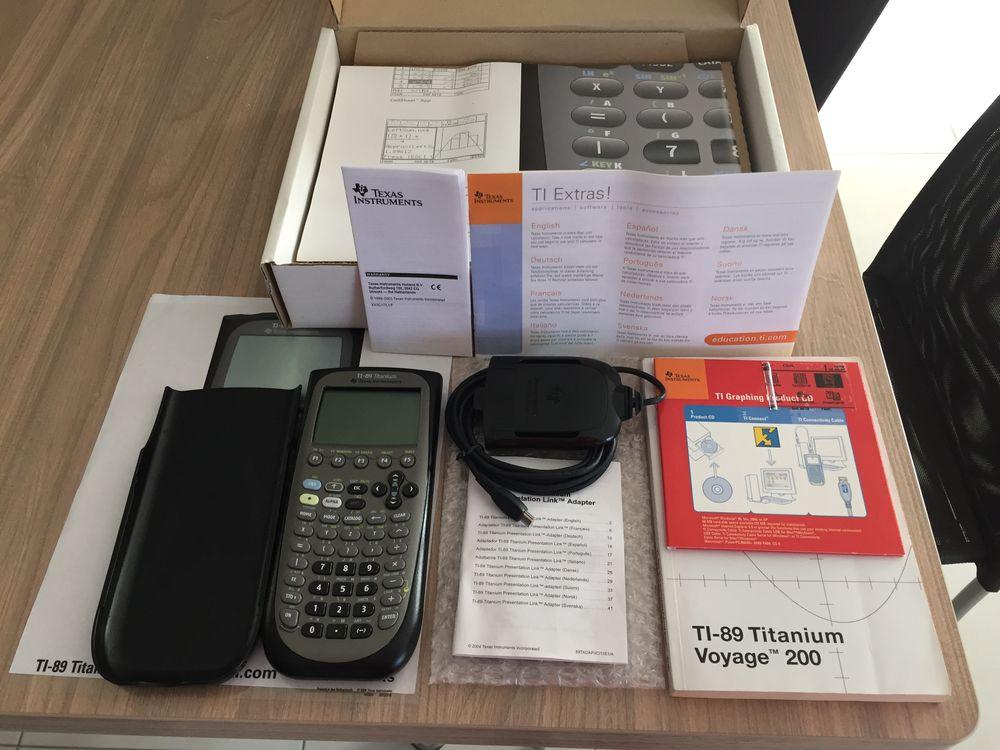 Calculatrice  Texas Instruments TI-89 Titanium  80 Pontoy (57)