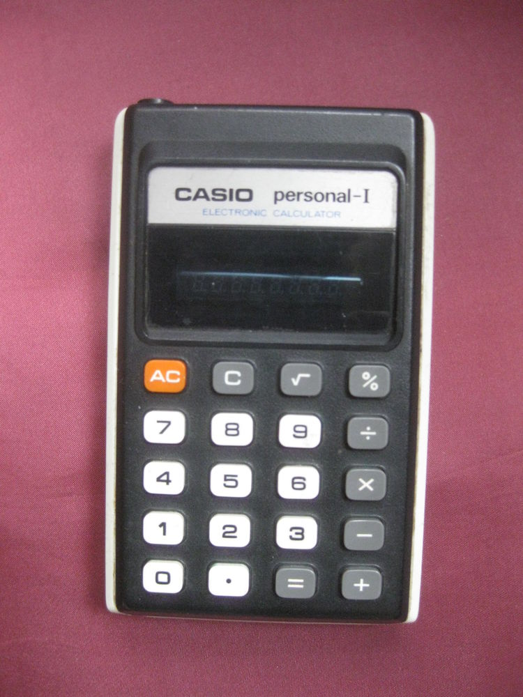 calculette  CASIO personal -I 5 Palau-del-Vidre (66)