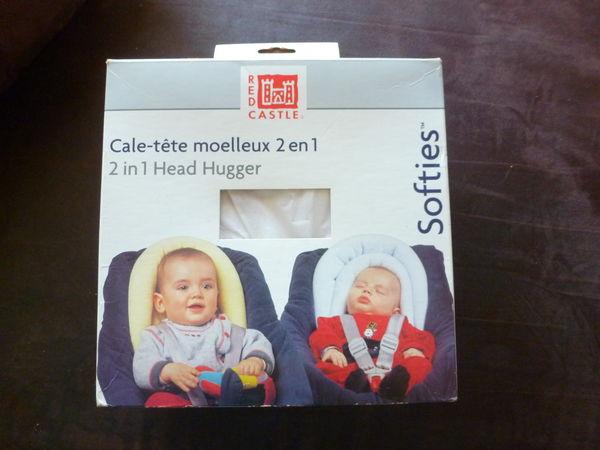 Cale-tête moelleux 2 en 1  pour bébé 10 Saint-Laurent-du-Var (06)