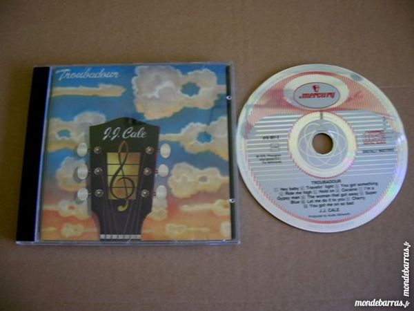 CD JJ CALE Troubadour (Cocaïne) 7 Nantes (44)