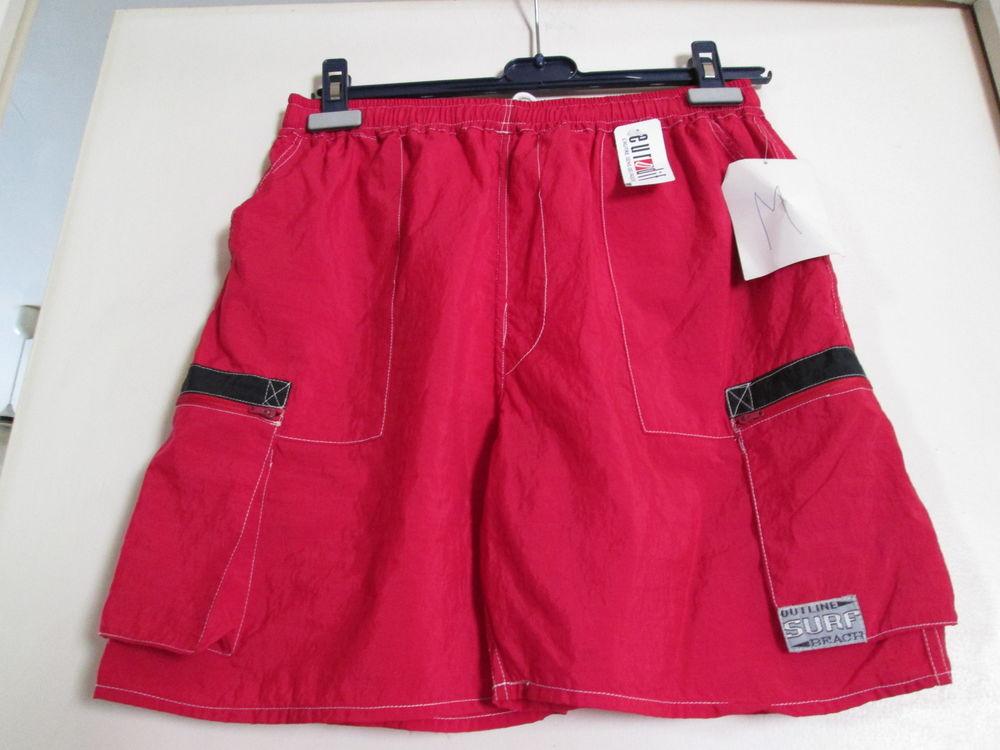 Caleçon de bain rouge Vêtements enfants