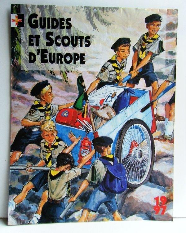 CALENDRIER 1997 GUIDES & SCOUTS D'EUROPE 15 La Celle-sur-Morin (77)