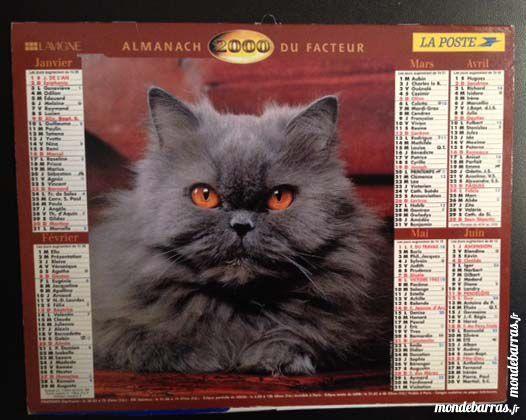 Calendrier Almanach 2000 - original 6 Nice (06)
