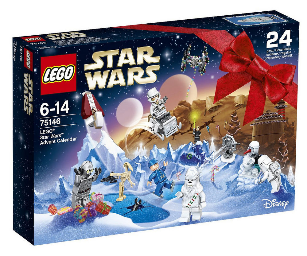Calendrier avent star wars neuf noel 2016 75146 0 Toulouse (31)