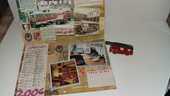1 calendrier de pompier et un camion miniature 3 Saumur (49)