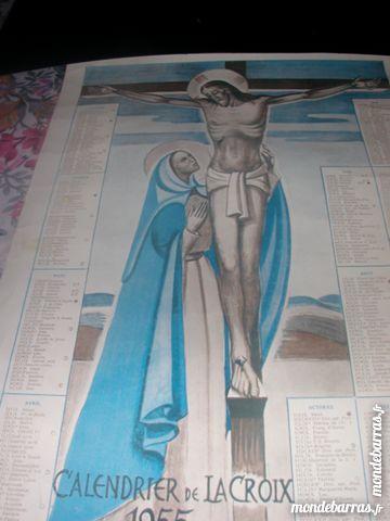 Calendrier religieux Année 1955
