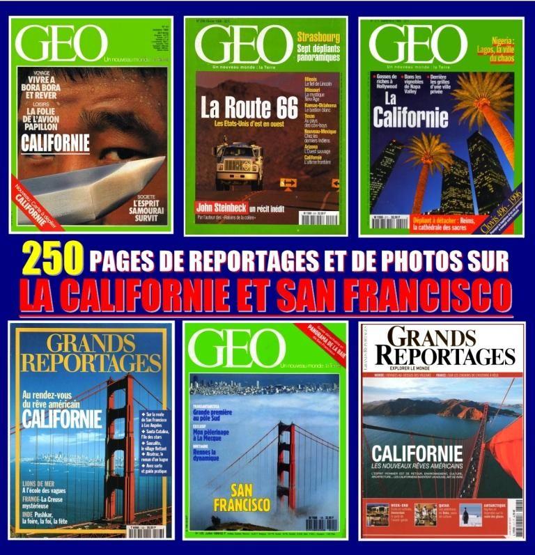LA CALIFORNIE - géo - SAN FRANCISCO 18 Toulouse (31)