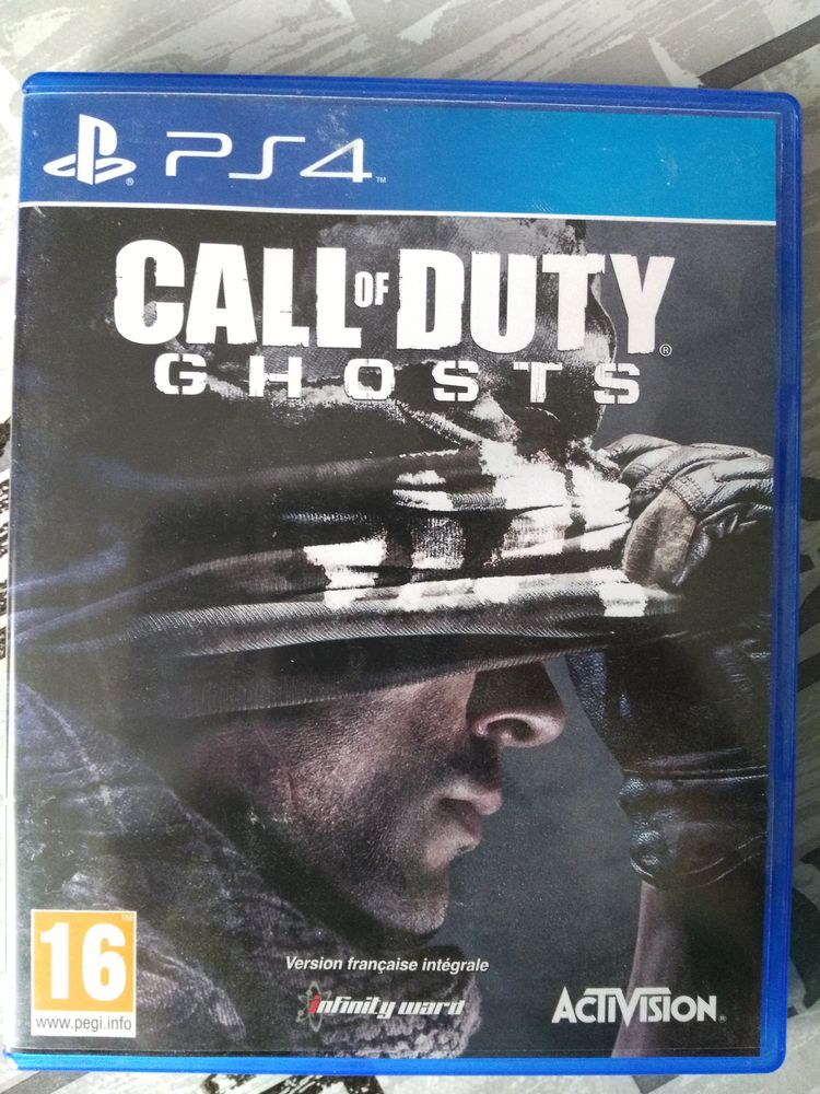 CALL OF DUTY : GHOSTS PS4 15 Breuillet (91)