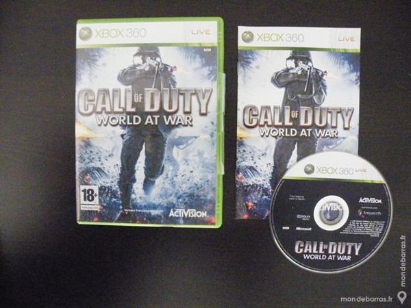 Call of duty World at War Xbox 360 10 Lanhélin (35)