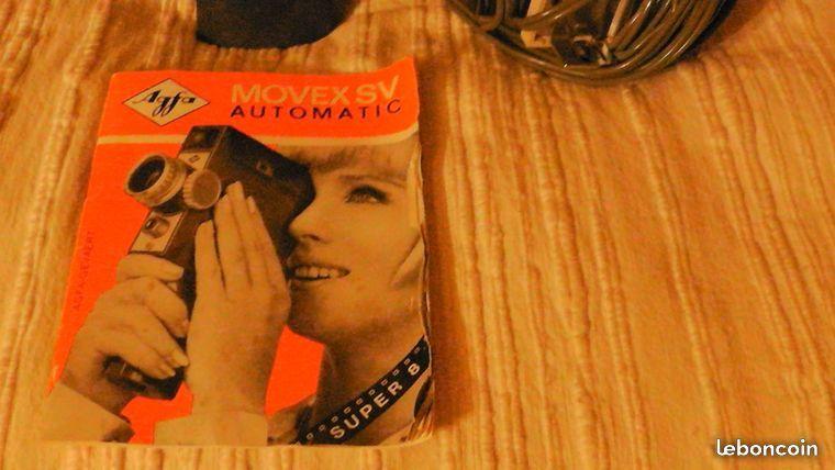 Caméra AGFA MOVEX SV automatic Super 8 pour film Agfacolor  5 Brie-Comte-Robert (77)