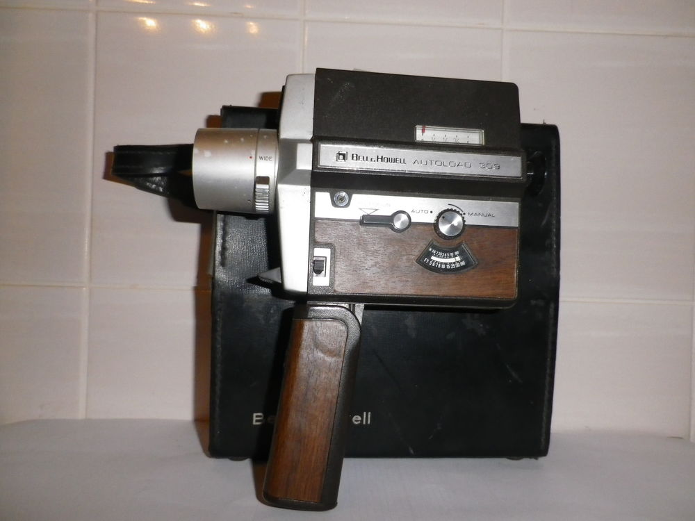 CAMERA BELL & HOWELL AUTOLOAD 309 SOLDÉ -55  50 Crolles (38)