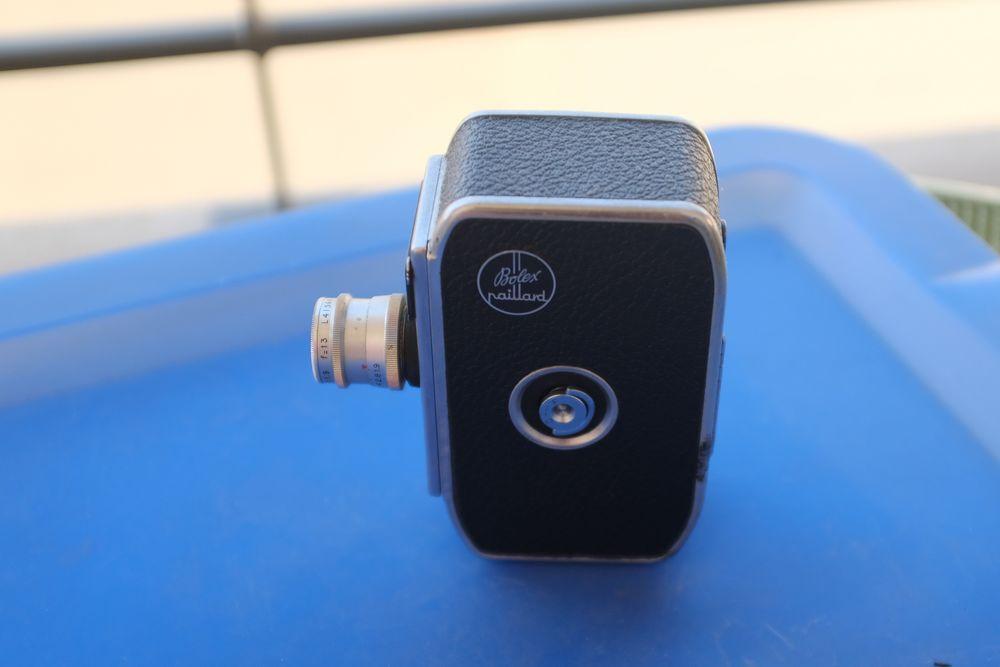 Caméra Bolex 8 mm,  60 Nice (06)