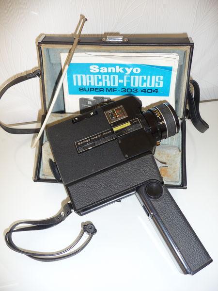 Caméra super 8 SANKYO macro-focus MF404 50 Gravelines (59)
