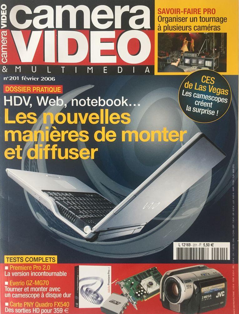 Camera Video n°201 février 2006 3 Joué-lès-Tours (37)