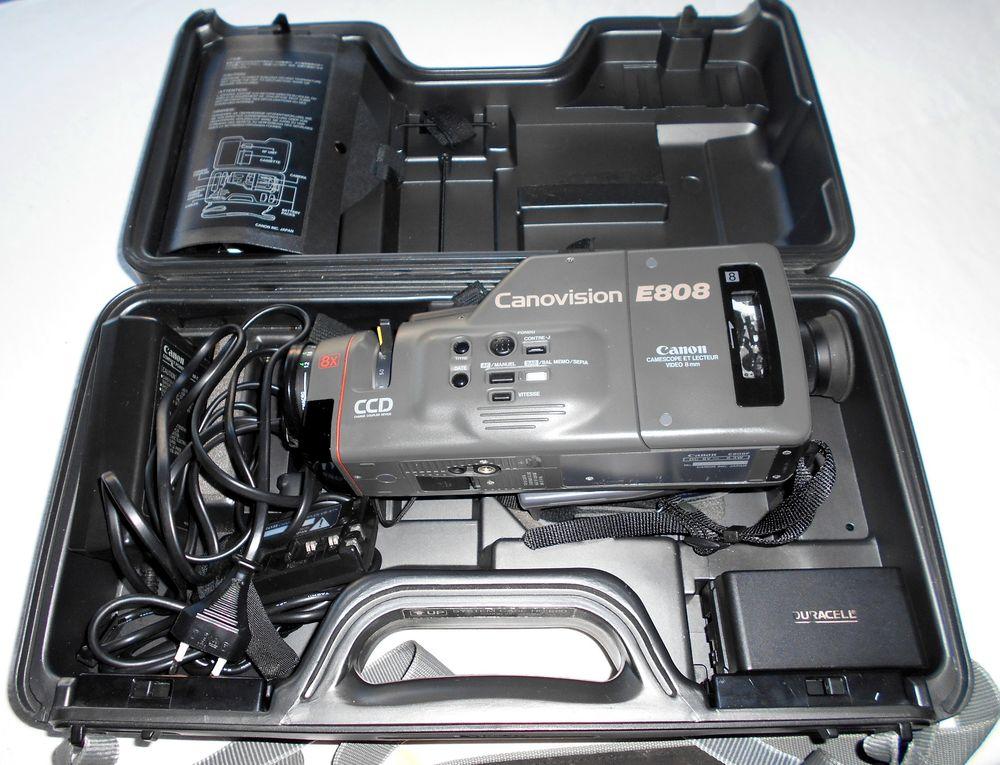 Caméscope CANON E808 batterie télécommande 90 Monflanquin (47)