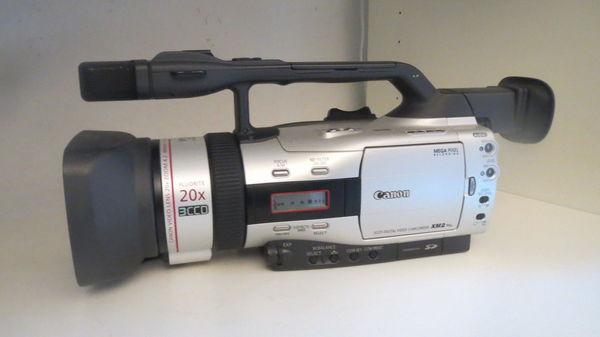 Caméscope CANON XM2 380 Lamballe (22)