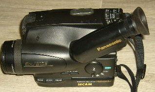 camescope VHS-C cassette panasonic 49 Versailles (78)