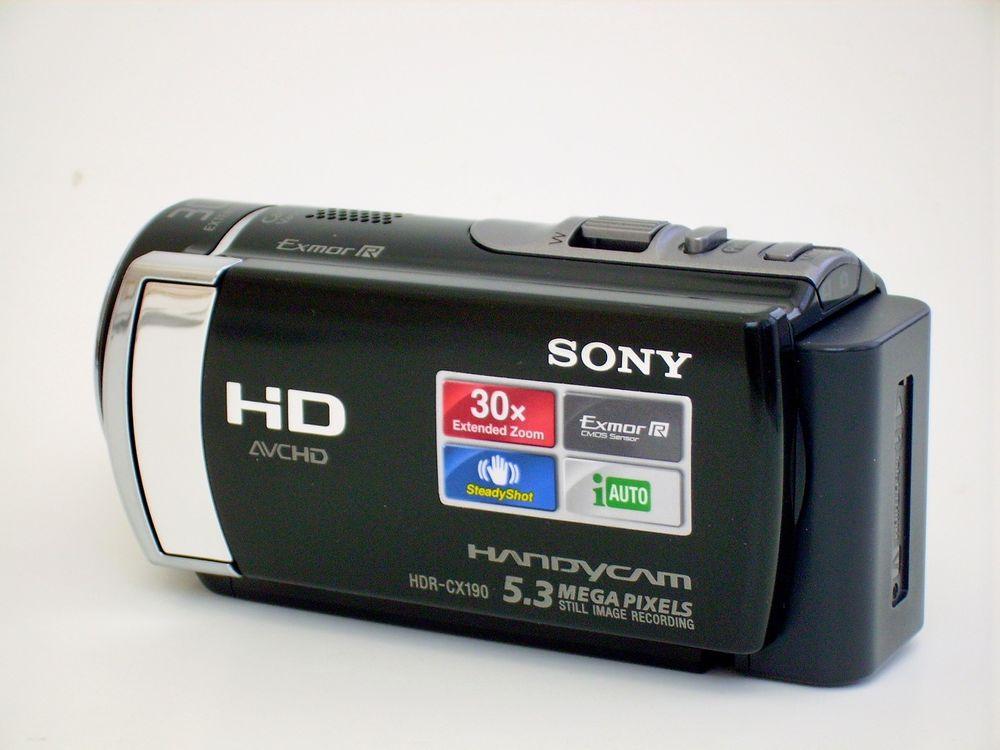 Camescope full HD Sony HDR-CX190 100 Montarnaud (34)