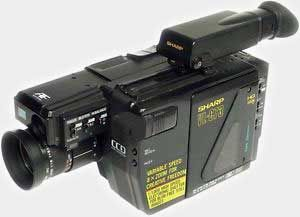 Camescope sharp VHS C VL-C73 à REPARER 30 Versailles (78)