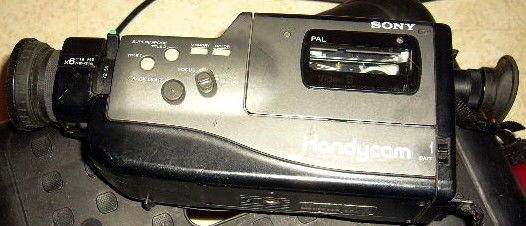camescope SONY 8mm video8 CCD F330 à REPARER 29 Versailles (78)