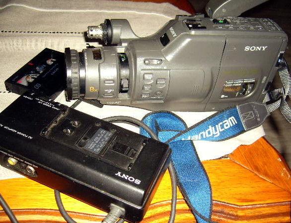 camescope sony video8mm CCD F385E à réparer 39 Versailles (78)