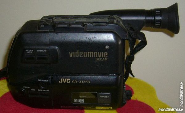 camescope VHSC JVC AX15 à réparer 25 Versailles (78)