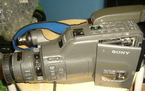 camescope 8mm video8 SONY CCD-F385  A REPARER 45 Versailles (78)