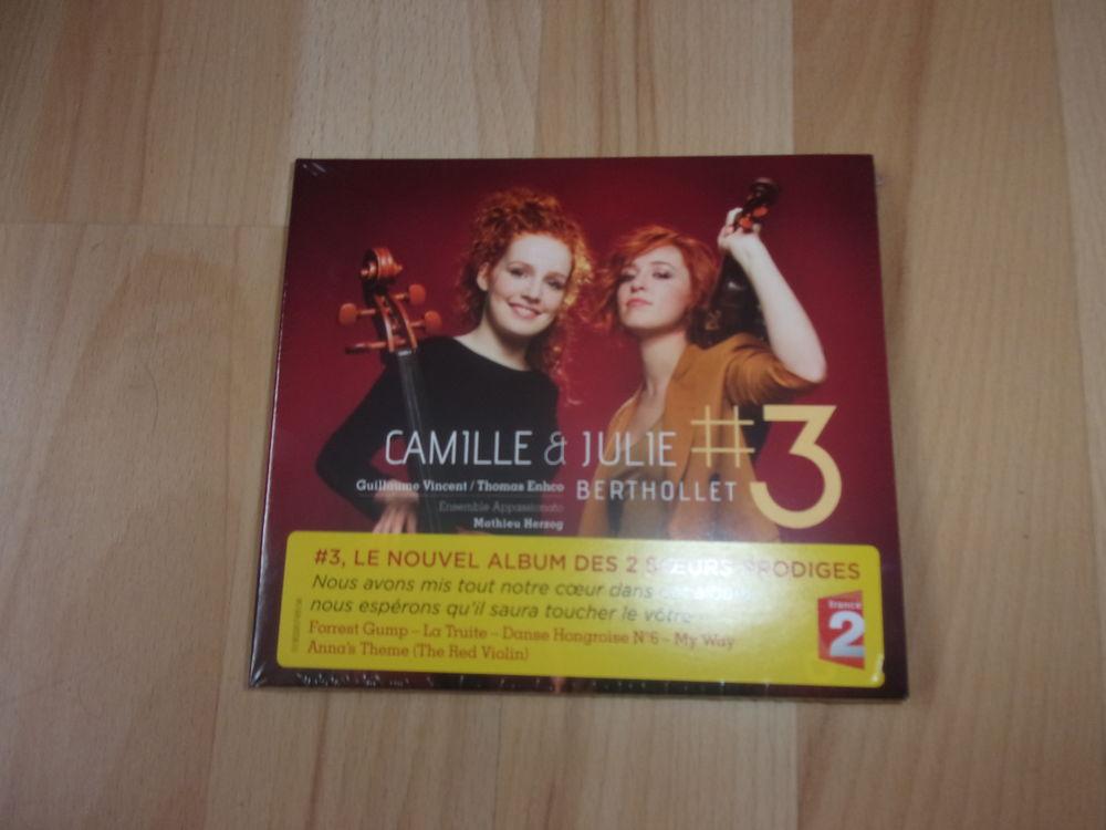 CD #3 de Camille et Julie Berthollet (Neuf) 15 Ardoix (07)
