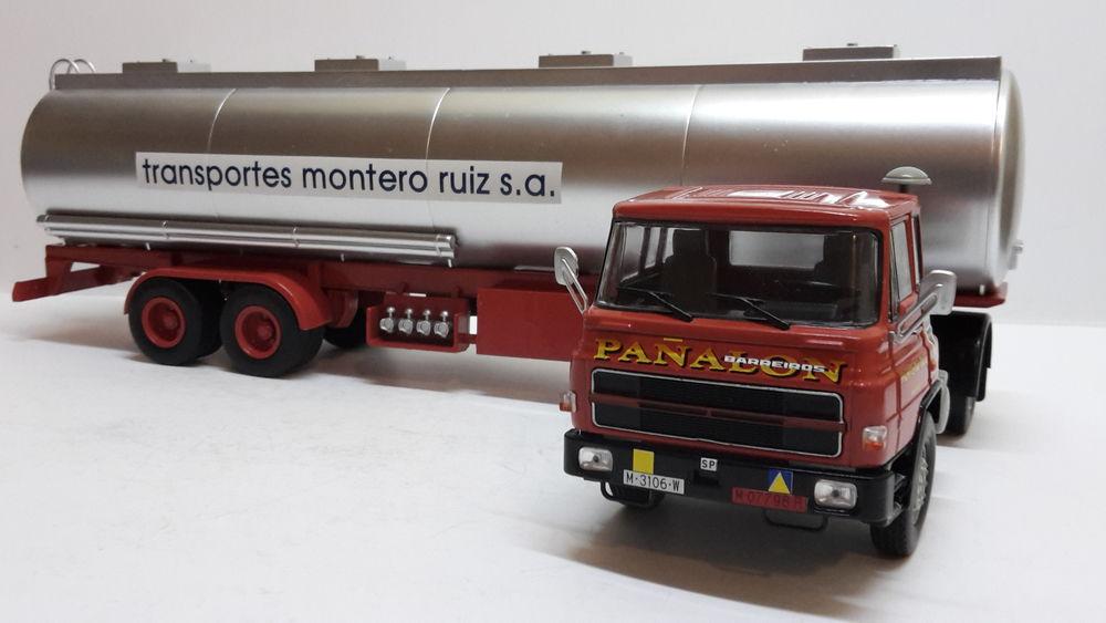 Camion Barreiros 42/38T + semi-remorque citerne 32 Follainville-Dennemont (78)
