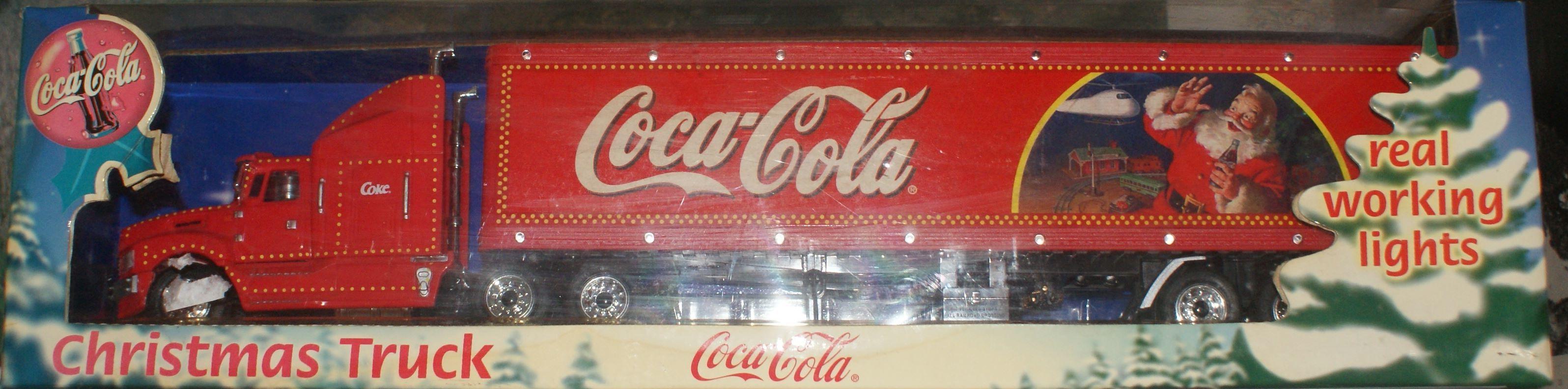 camion collector coca-cola 50 Montcy-Notre-Dame (08)