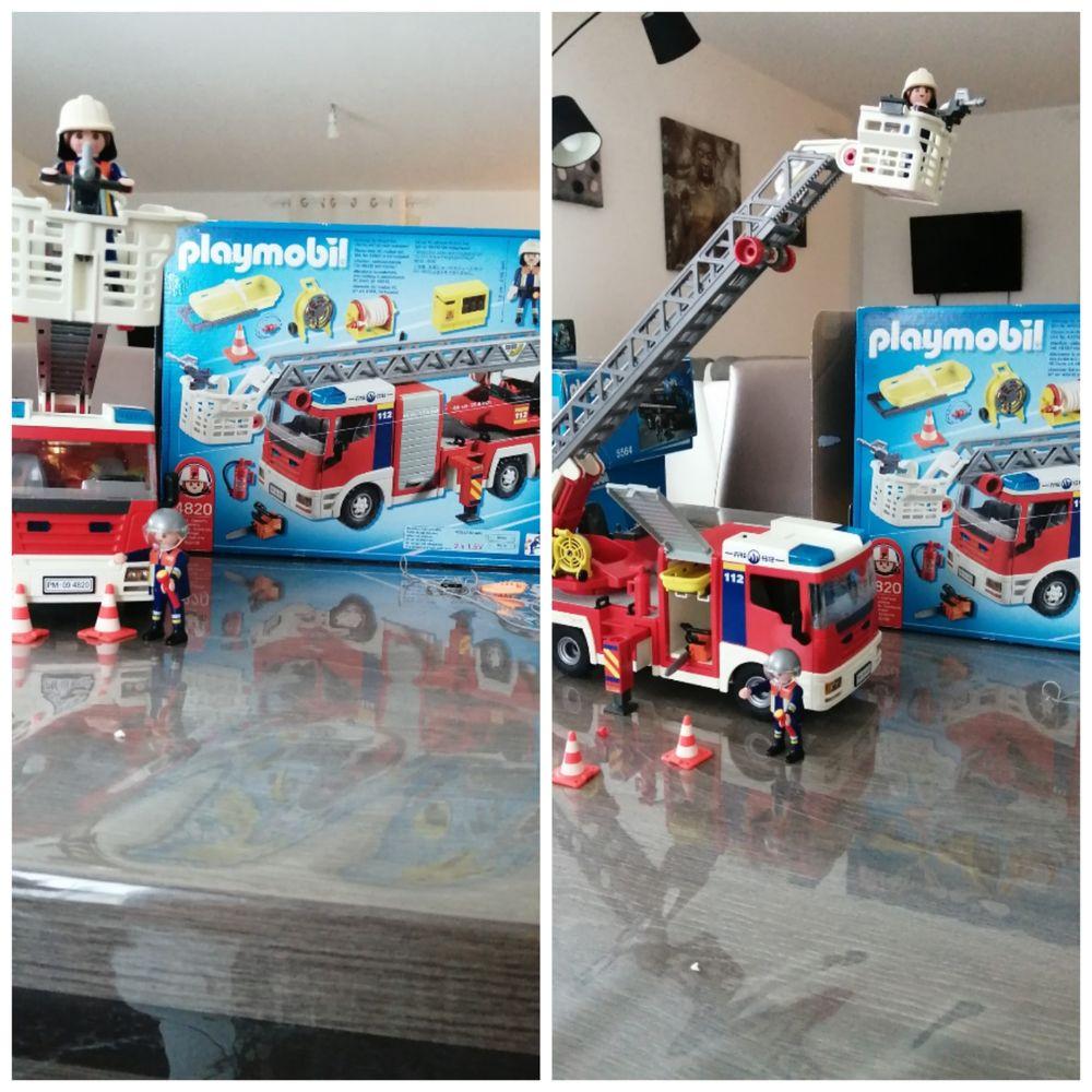 Camion pompier playmobile 40 Montreuil-sous-Pérouse (35)